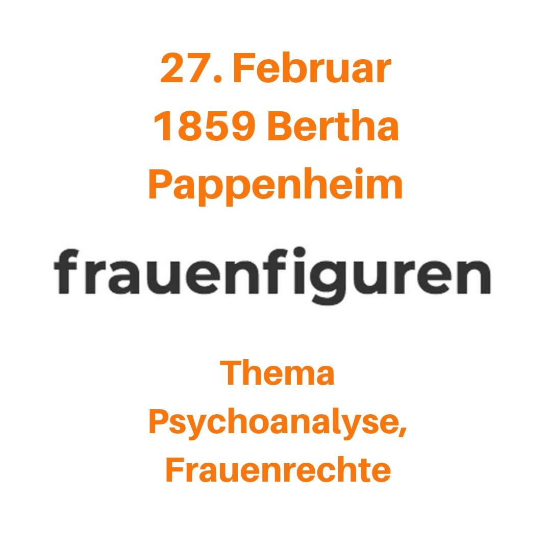 09/2019 Bertha Pappenheim