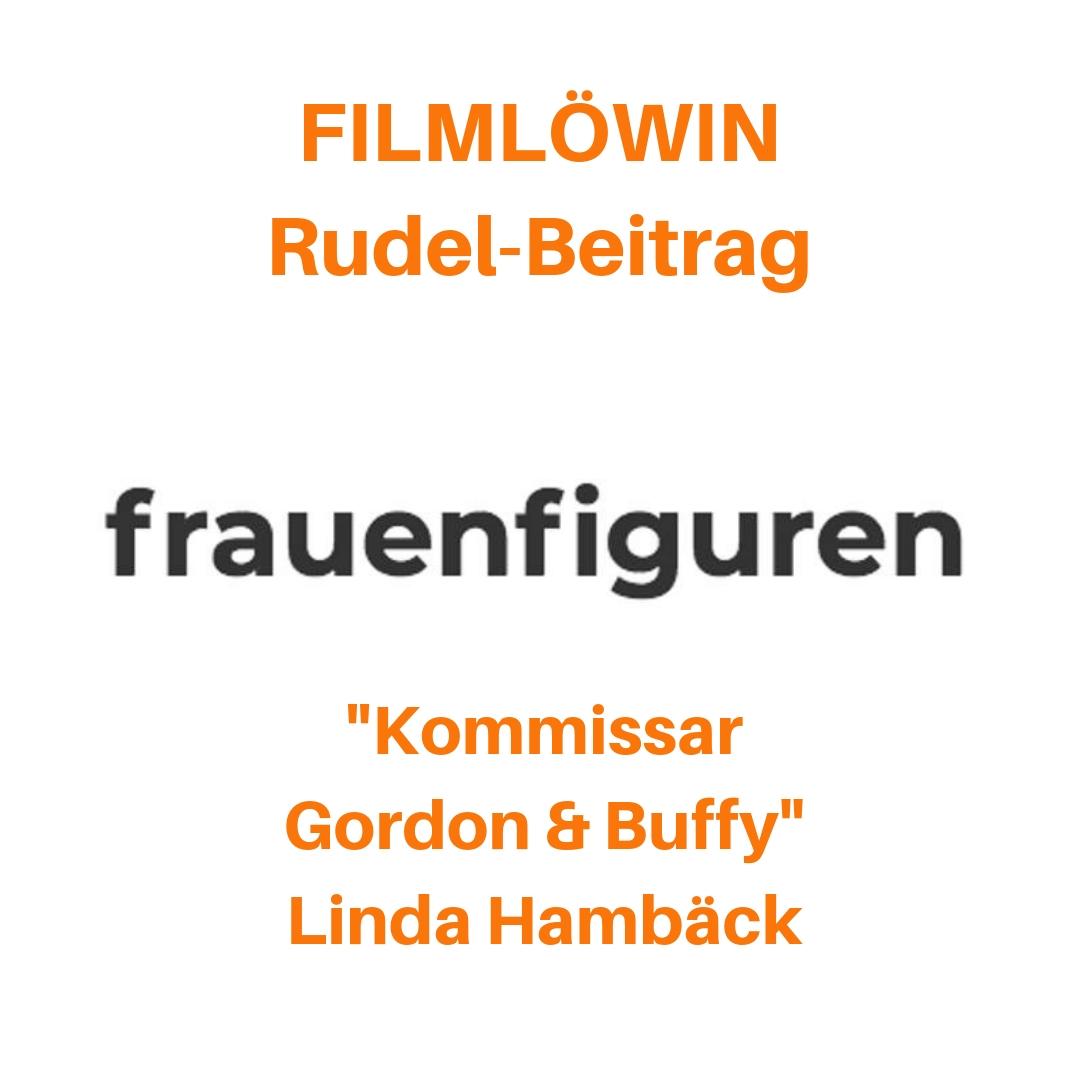 Kommissar Gordon und Buffy Linda Hambäck Filmlöwin