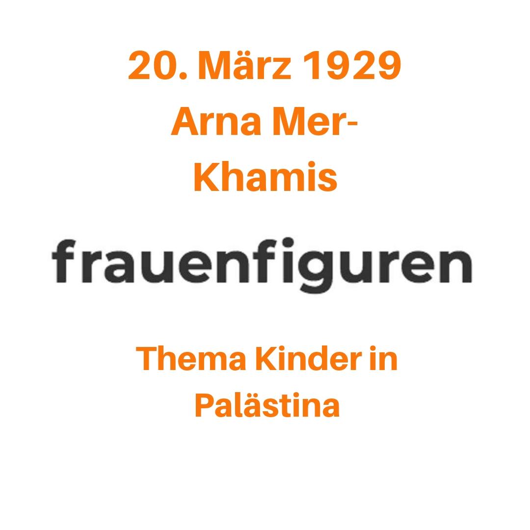 12/2019 Arna Mer-Chamis