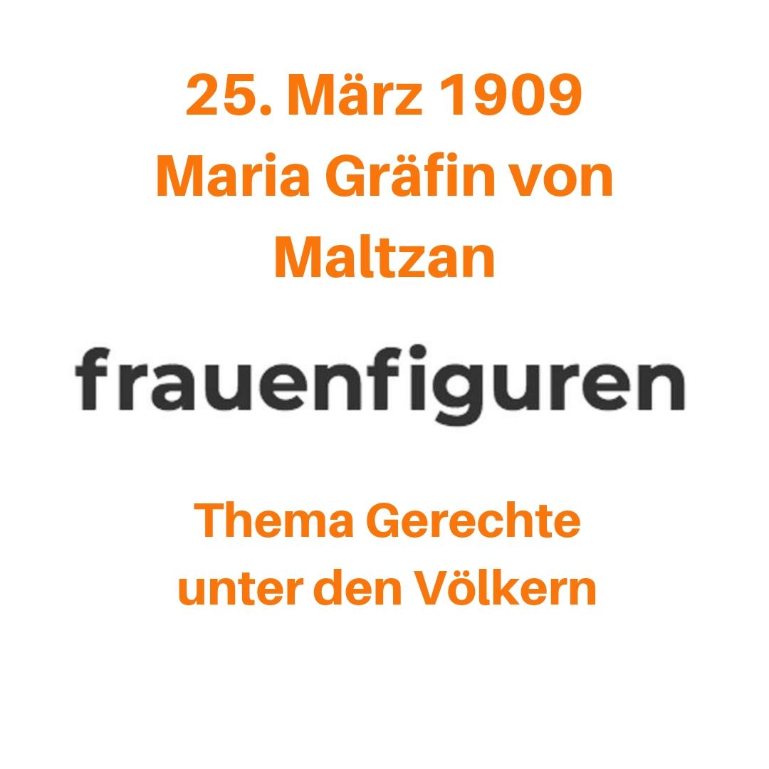 13/2019 Maria Gräfin von Maltzan