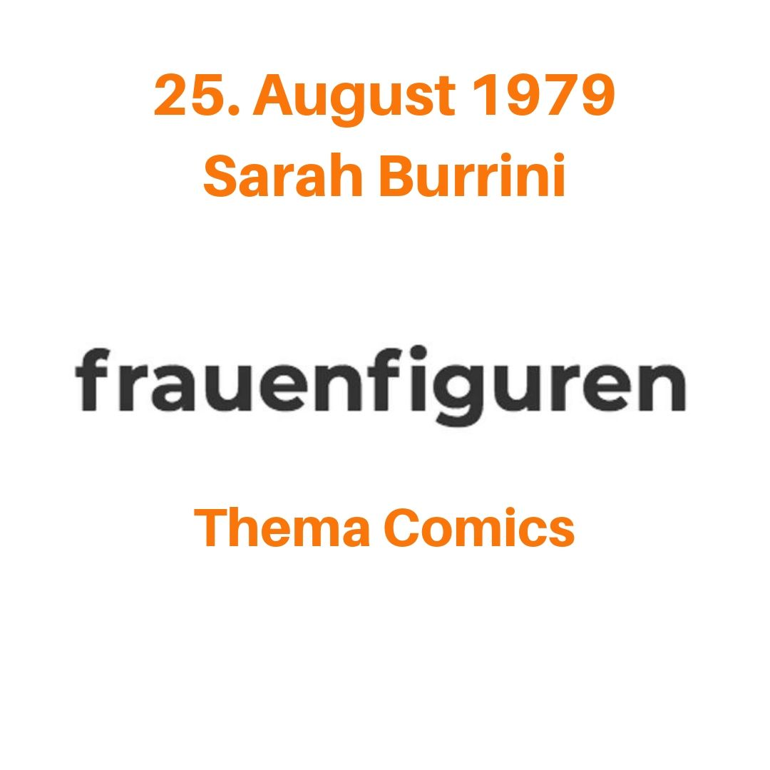 sarah burrini frauenfiguren