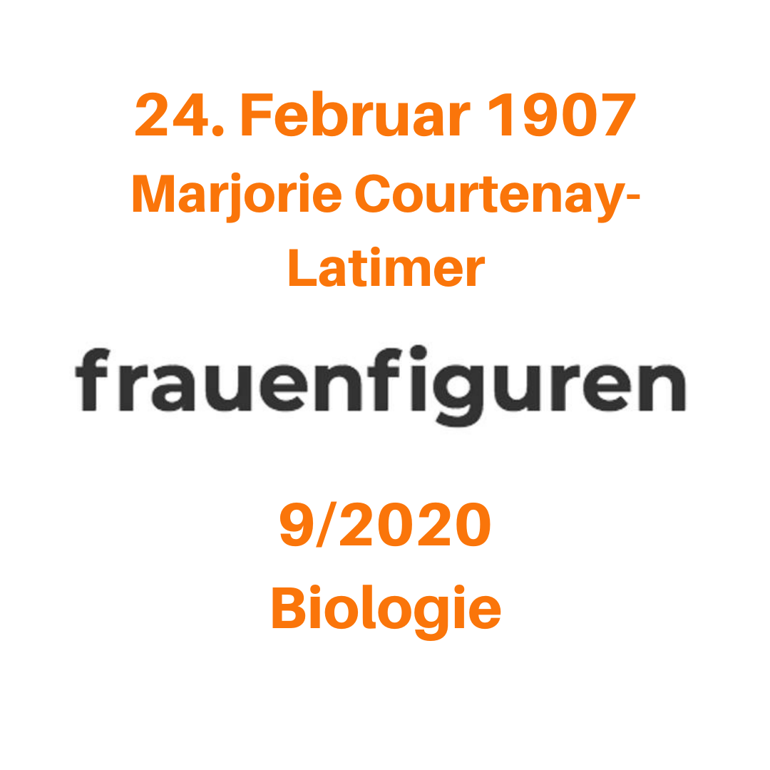 9 2020 frauenfiguren marjorie courtenay-latimer