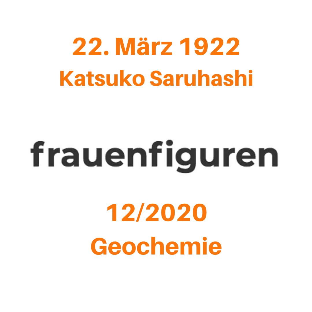 12 frauenfiguren katsuko saruhashi