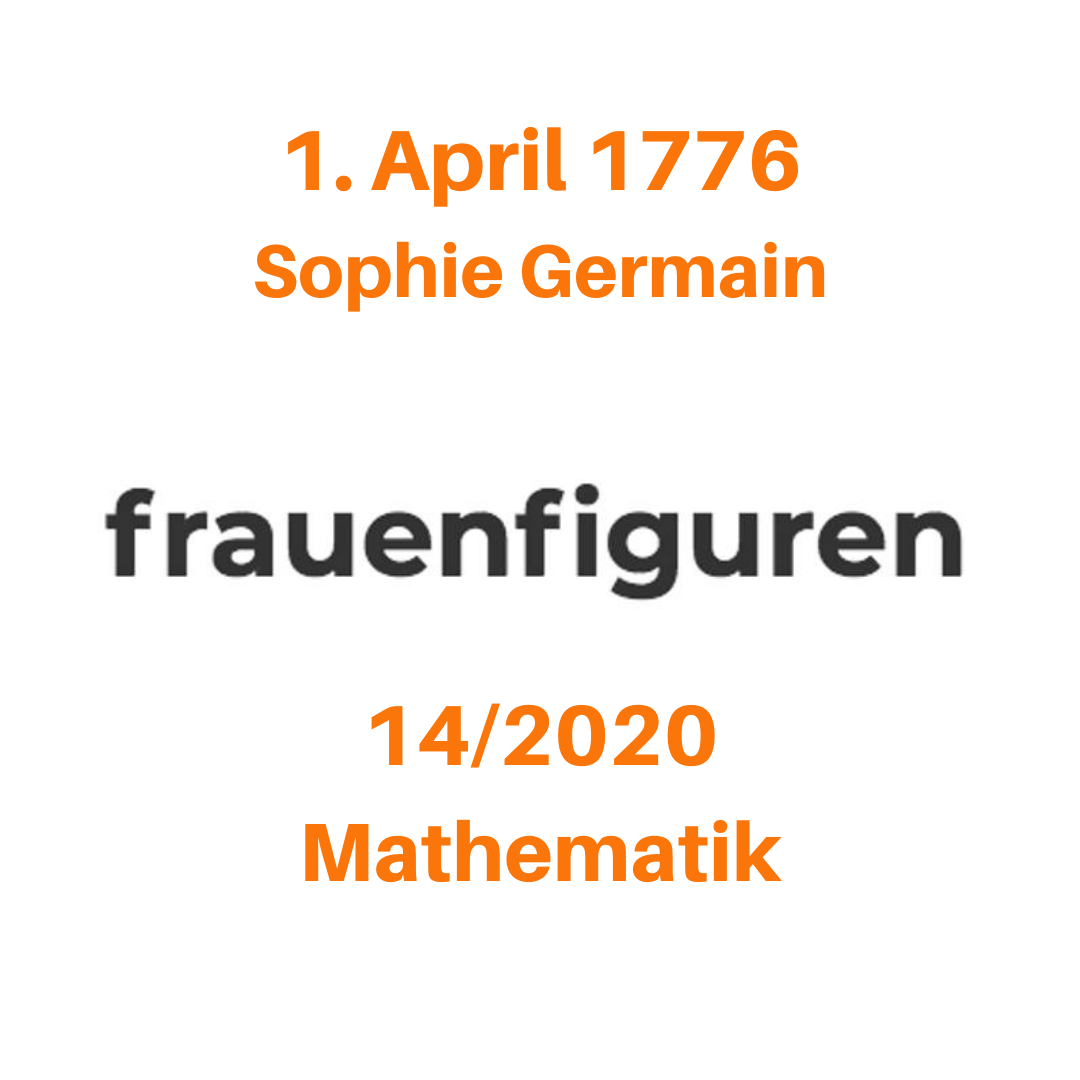 14 frauenfiguren sophie germain
