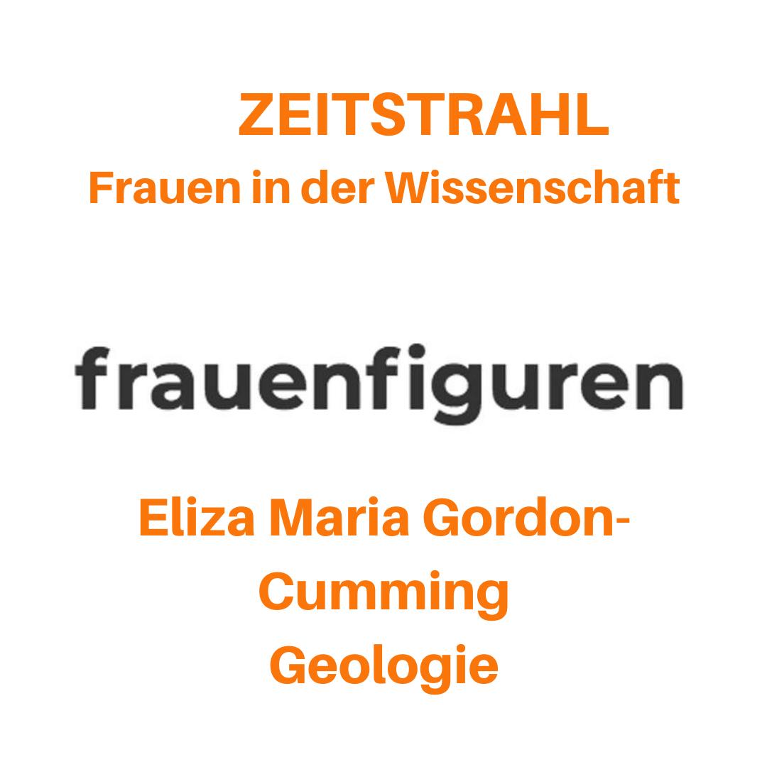 frauenfiguren zeitstrahl frauen in der wissenschaft eliza maria gordon-cumming