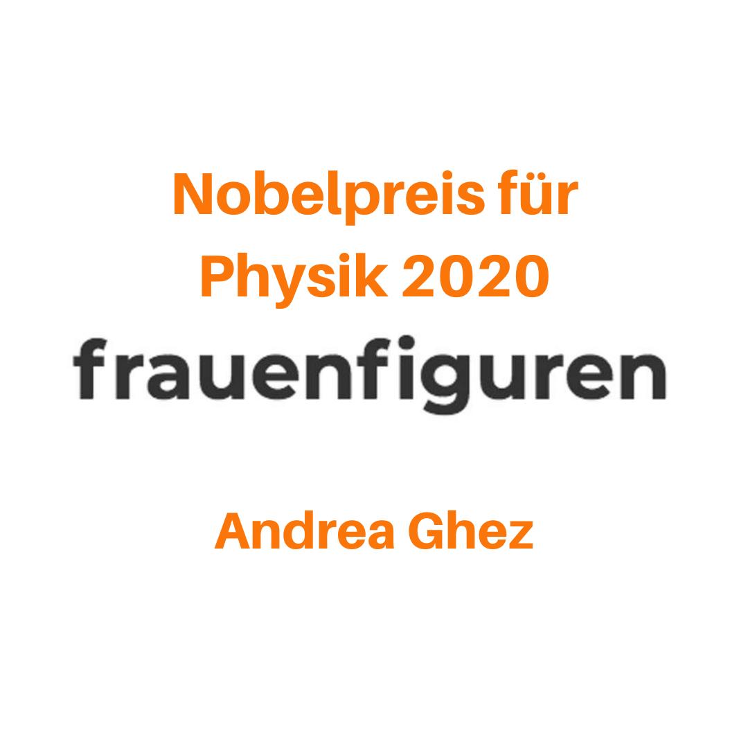 frauenfiguren nobelpreis physik 2020