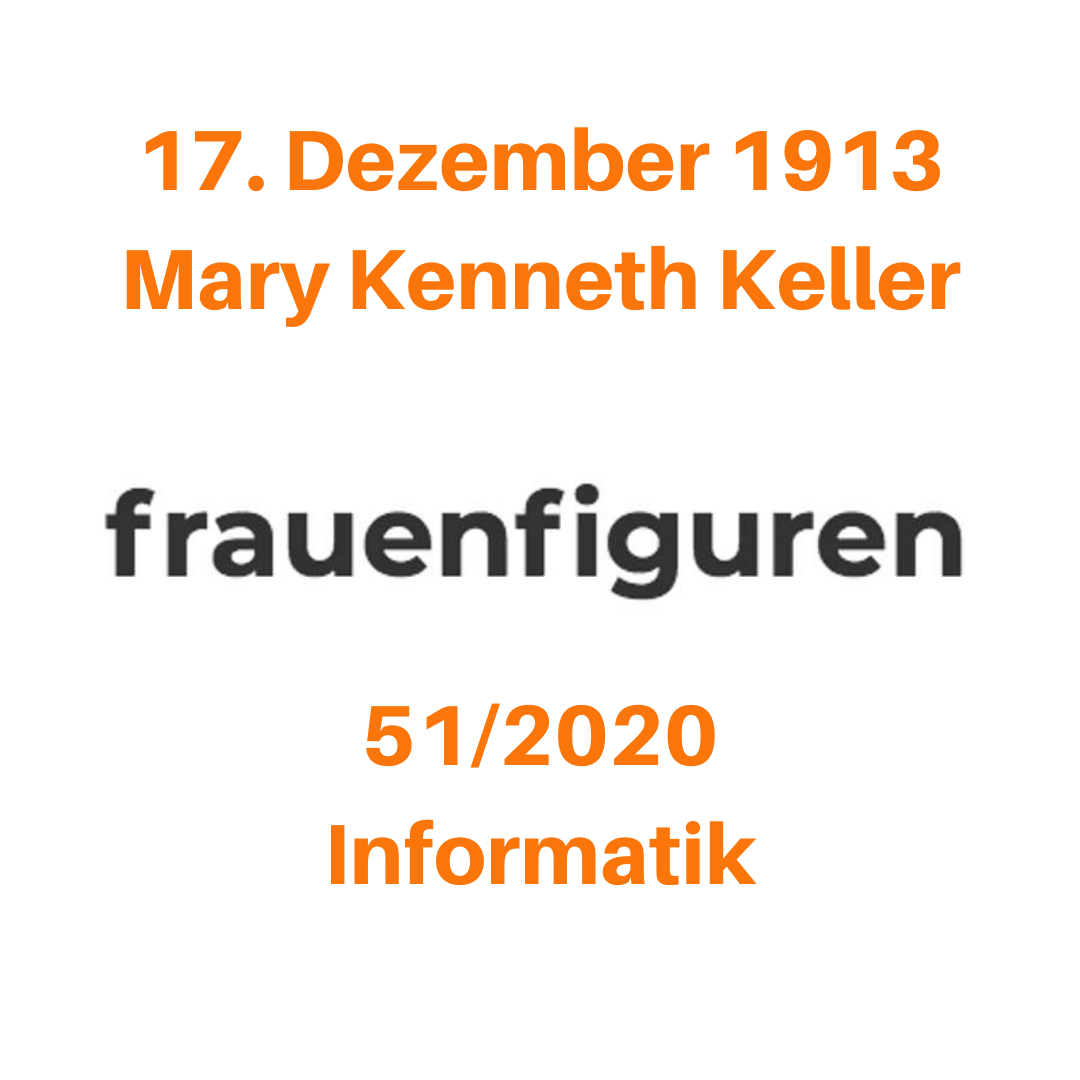 frauenfiguren mary kenneth keller